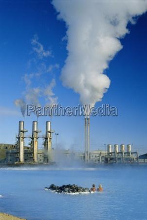geo thermal power plant in svartsengi