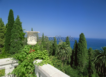 view of the sea from villa