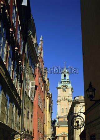 stockyrkan gamla stan stockholm sweden scandinavia