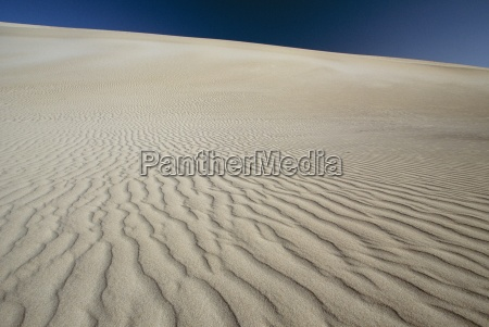 ripples in sand dunes at little