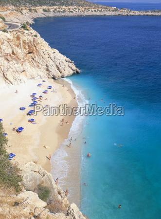 kaputas beach near kalkan south coast