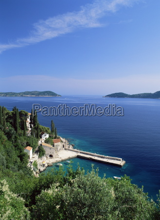 view of harbour and coast from
