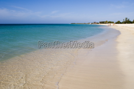 calm sea and the beach at