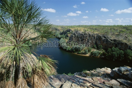 the western end of katherine gorge