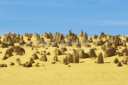 rock pillars formed by erosion of