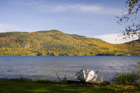 a view across lake george to