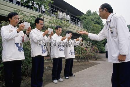 hell camp executive retraining japan asia