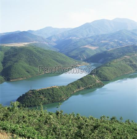 chinese hydro electric scheme near kukes