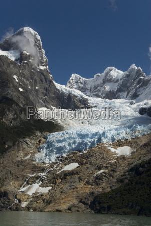 glaciar balmaceda balmaceda glacier fjord ultima