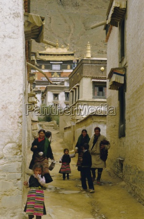 tashilhunpo monastery xigaze town tibet china