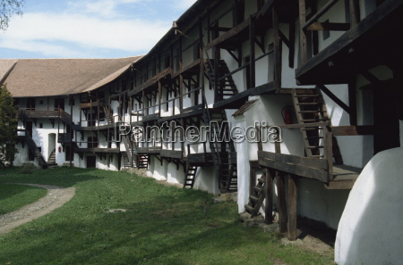 fortified village prejmer tartlau near brasov