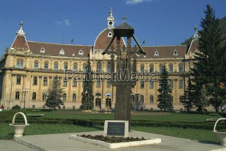 town hall brasov romania europe