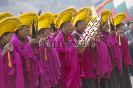 new year losar celebrations labrang monastery