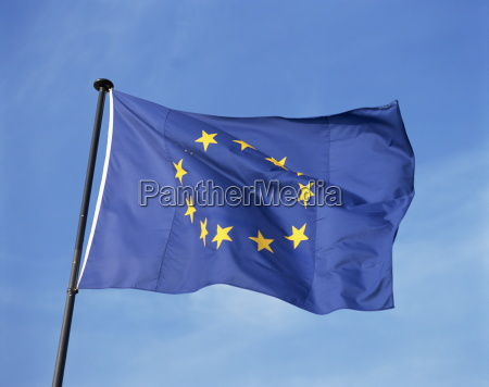 close up of the european union