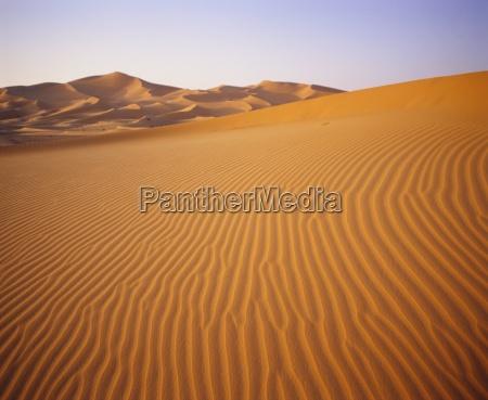 sand dunes grand erg occidental sahara