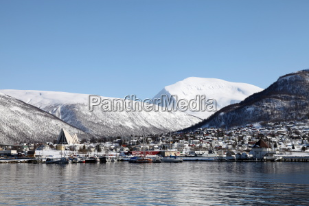tromsdalen and the cathedral of the