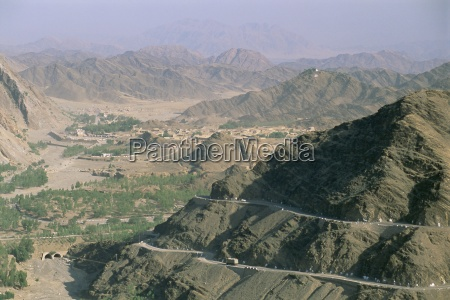 view into afghanistan from the khyber