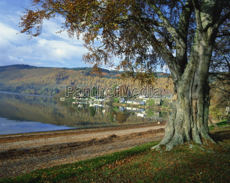 loch tay kenmore tayside highlands scotland