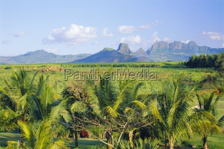 mauritius scenic in the north west