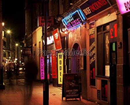 sex shops soho london england united
