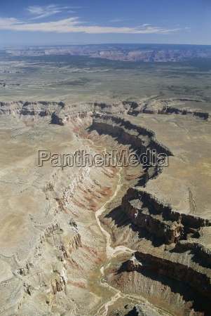 aerial view of the canyonlands arizona