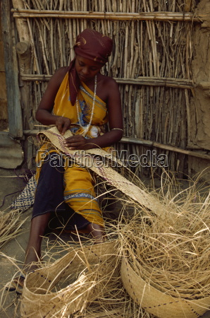 ethiopian refugee in camp in 1985