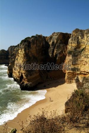 praia da dona ana beach near