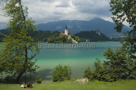 lake bled slovenia europe