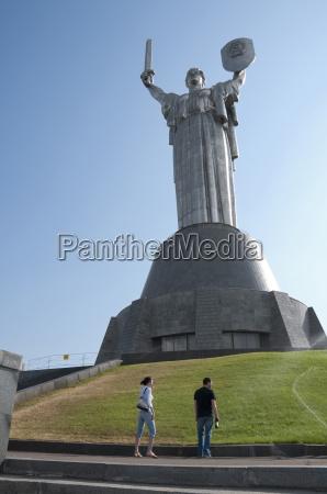 motherland statue rodina mat and the