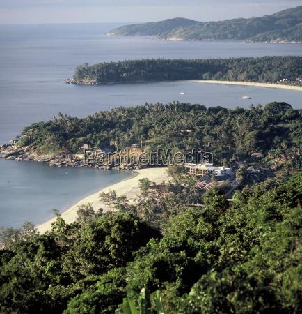 view of the coast of phuket