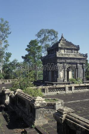 royal mausoleums hue vietnam indochina southeast