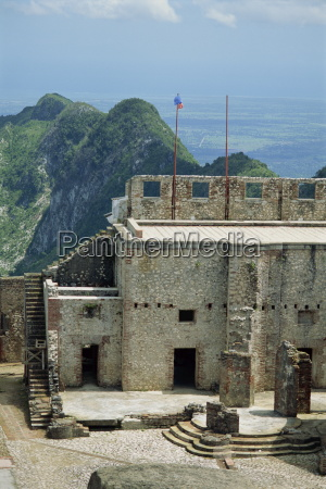 detail from the citadelle fort built