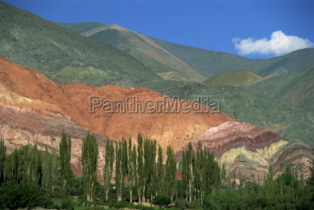 the seven colours mountain at purmamaca