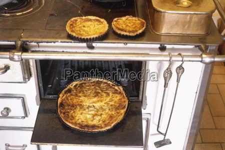 french onion tarts and oven france