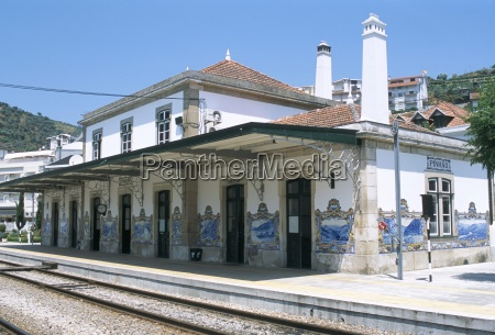 pinhao railway station famous for its