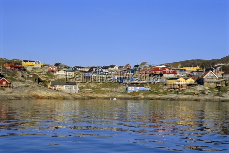 town of ilulissat formerly jacobshavn west