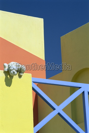 detail of modern architecture swakopmund namibia