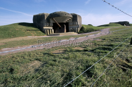 battery casemate on d day coast