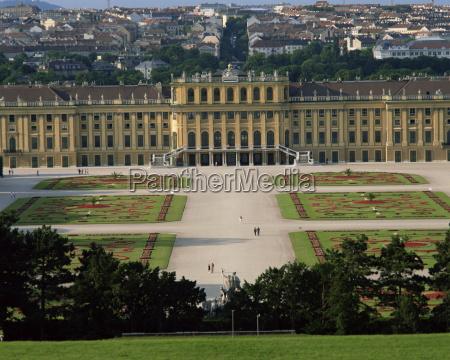 palace and gardens of schonbrunn unesco