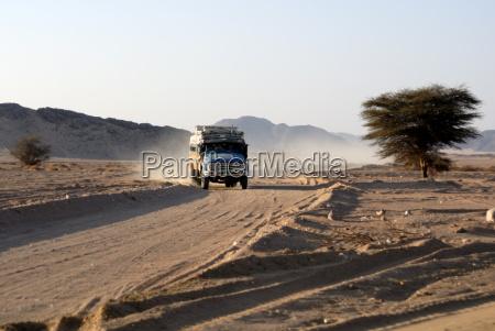 public transport nubian desert sudan africa
