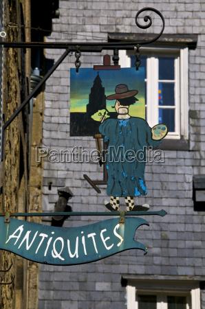 shop sign for a painters studio