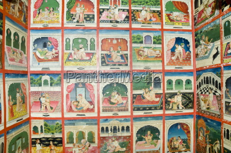 scenes from the kama sutra in
