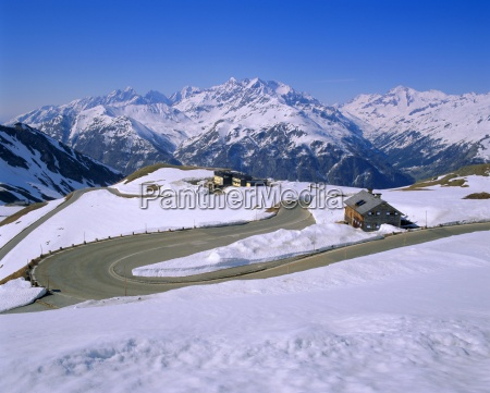 the grossglockner road hohe tauern national
