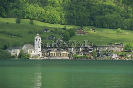 lake wolfgangsee st wolfgang the salzkammergut