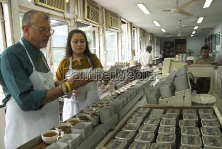 ravi kidwai tea specialist tasting and