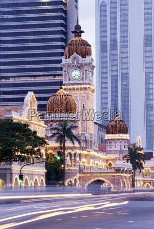 paseo viaje asia noche tarde malasia