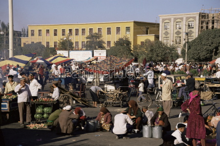 night market id kah square kashgar
