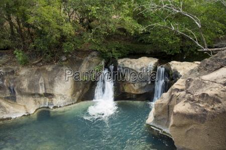 waterfall on the colorado river hacienda