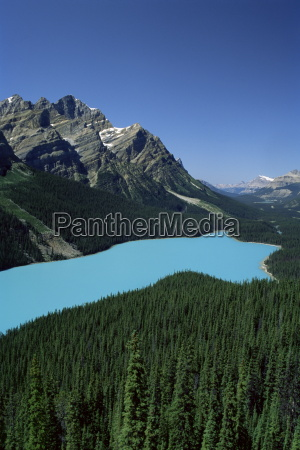 peyto lake banff national park unesco