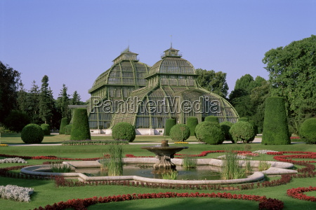 palm house schonbrunn gardens unesco world